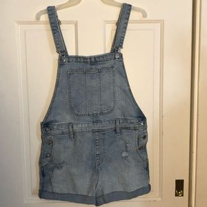 Old Navy Women's Short Overalls